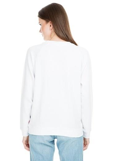 Levi's® Sweatshirt Beyaz